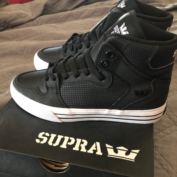 Supra Vaider Shoe   Black   White 29d0182ecdcd